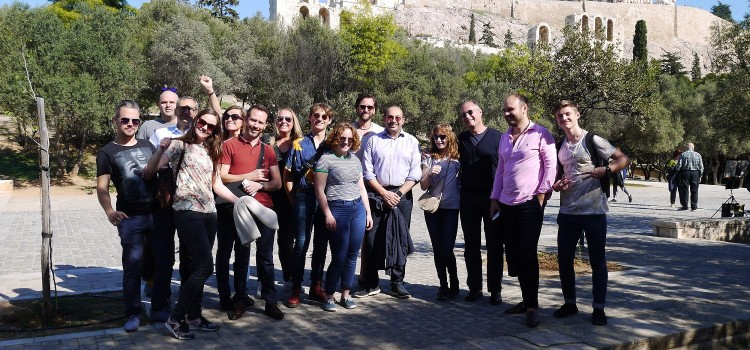 JUST 1 MEETING in ATHENS from 26th – 27th of October 2018